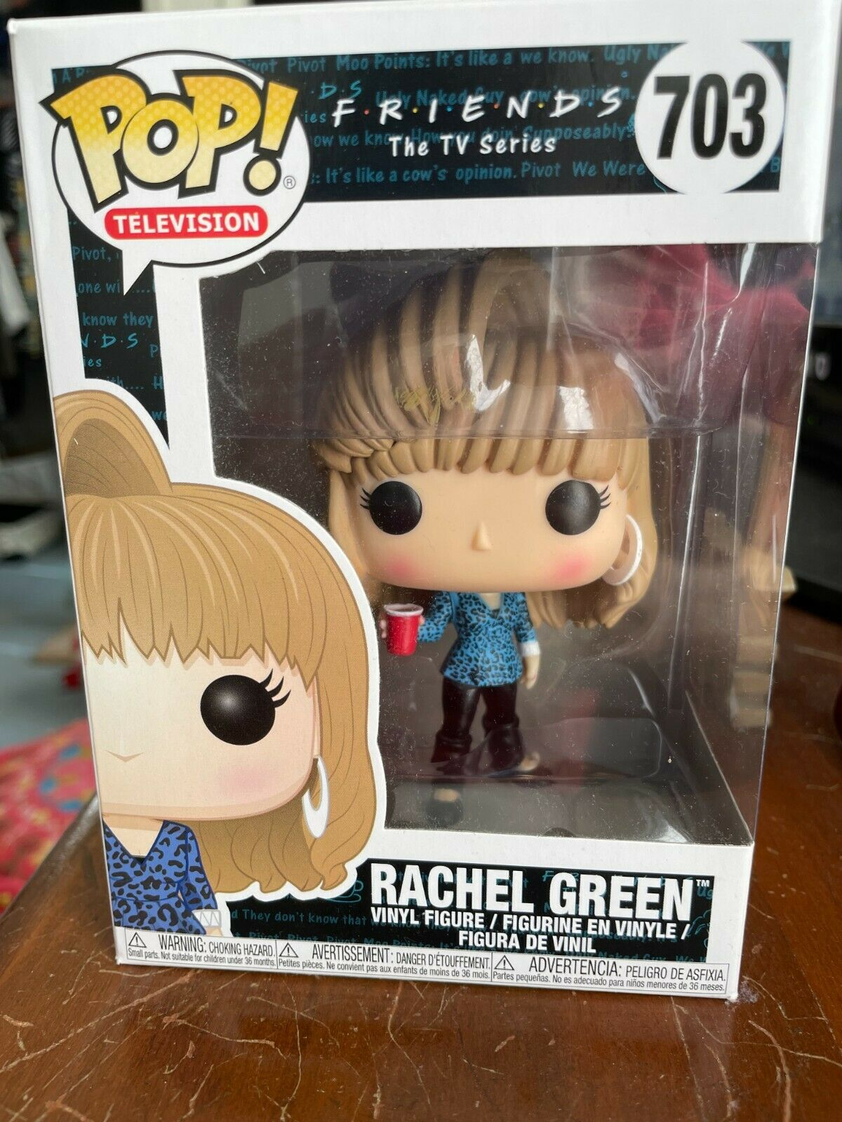 Funko POP! Television-Friends-Rachel Green-#703-NEW