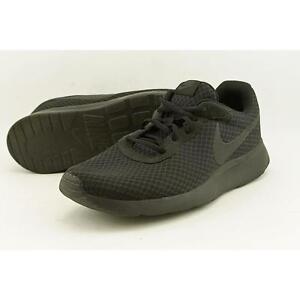 Mens Nike Tanjun Shoes Size 9 Black Anthracite 812654 001 eBay