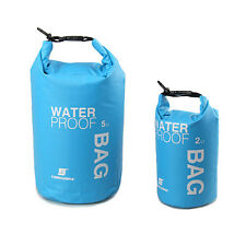 df1337789fa2 2-5L Waterproof Dry Bag Pouch Sack Travel Camping Canoe Kayak Swim Outdoor  Sport