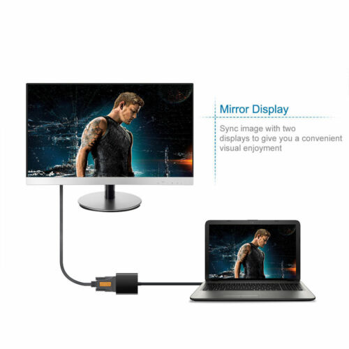 USB 3.0 to VGA Adapter Converter External Video Graphic Card Cable for PC 1080P