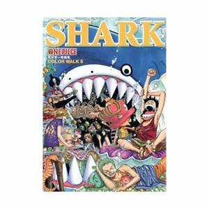 ONE-PIECE-Artbook-034-Color-Walk-5-SHARK-034-Eiichiro-Oda-Anime-Manga-SHUEISHA