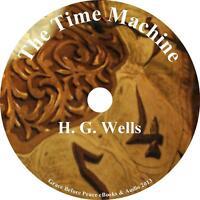 The Time Machine, H. G. Wells Sci-fi Audiobook Unabridged English On 3 Audio Cds