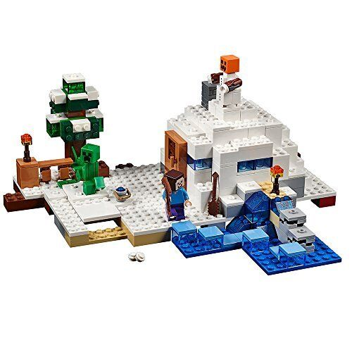 LEGO Minecraft The Snow Hideout 21120 Toy