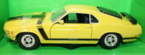 Welly-NEX-1-24-SCALA-22088W-1970-Ford-Mustang-Boss-302-Giallo