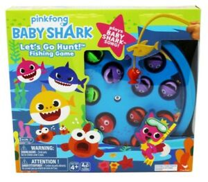 Cardinal Games 6054916 Baby Shark Gone Fishing Game, Multi Colour Multicolor