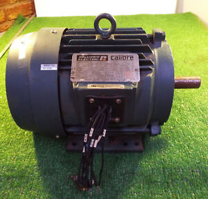 Details about 1 USED RELIANCE P18G4903 5 HP ELECTRIC MOTOR ***MAKE OFFER***