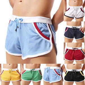 Men-039-s-Gym-Training-Shorts-Workout-Sports-Casual-Fitness-Running-Shorts-Swimwear