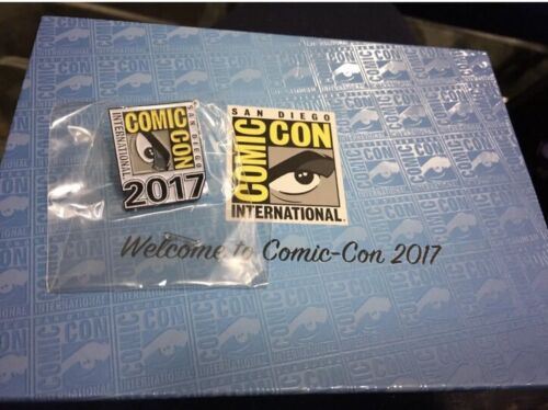 SDCC 2017 San Diego Comic Con Welcome Box Pin Booklet HQ Card No Badge