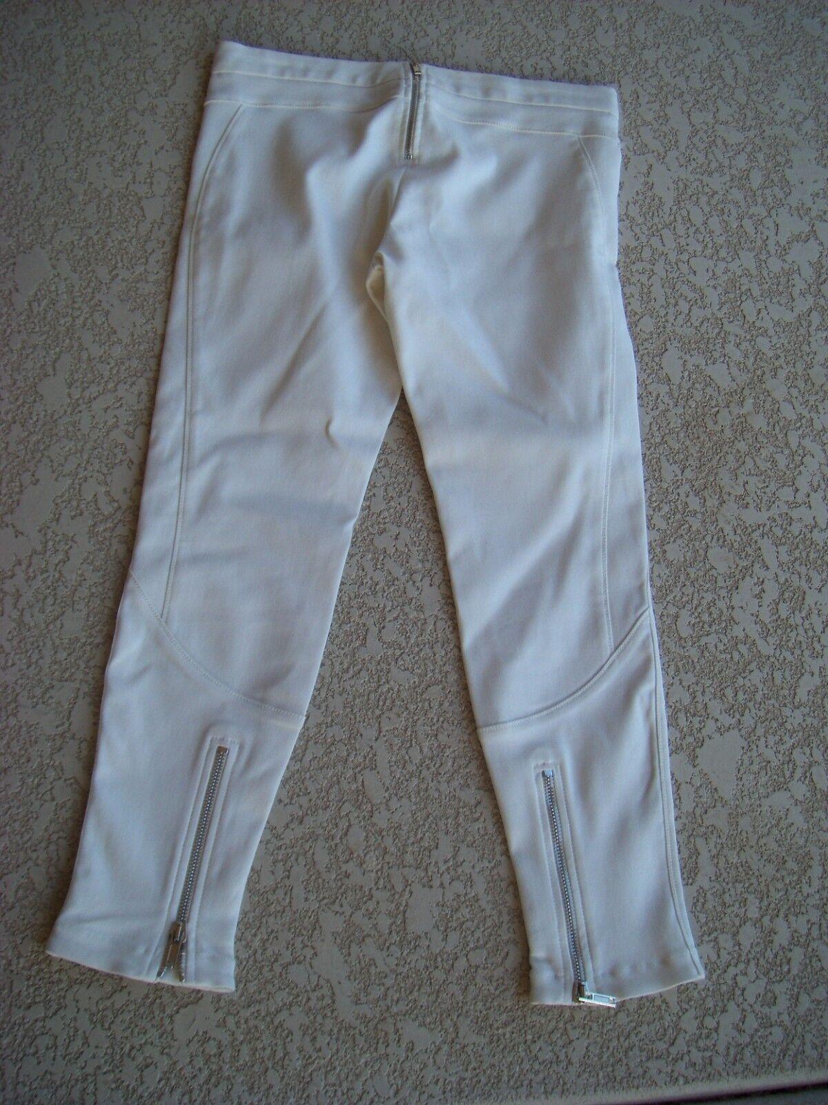 GIVENCHY Crop Leggings Pants Größe 42