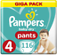 Pampers-Baby-Dry-nappy-Pants-Windeln-Monatsbox-Groesse-Gr-4-5-6 Indexbild 4