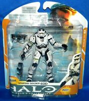 Mcfarlane Halo 3 Collection White Spartan Eod Soldier Exclusive 5 Action Figure