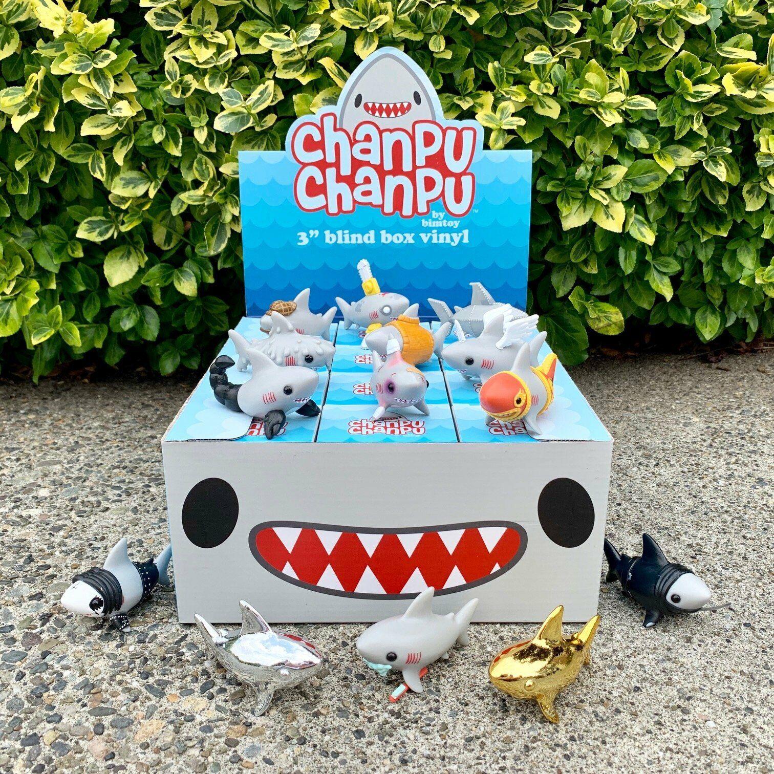Bimgiocattolo Chanpu Chanpu Blind scatola Wave 1 Case Factory Sealed LE 599 Tiny Ghost
