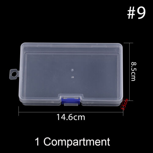 Square Candy cases Pill Storage Case Fishhook Tackle Box Fish Accessory Boxes