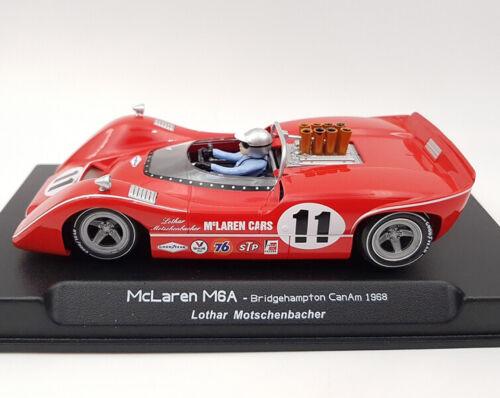 Thunder Slot McLaren M6A Laguna Seca 1968 Motschenbacher Slot Car 1/32