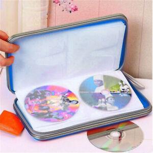 80-CD-DVD-Disc-Carry-Case-Storage-Organizer-Holder-Hard-Wallet-Album-Ring-Binder