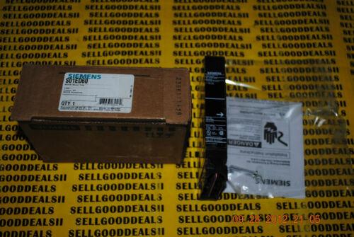 Siemens S01ED60 Shunt Trip Unit Frame ED For Sentron MCCB New