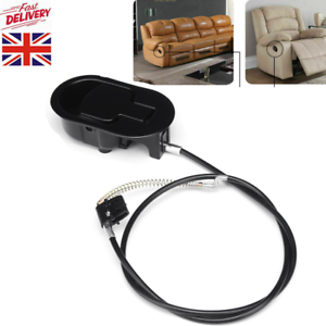Alloy Recliner Handle Release Lever Trigger Replacement Cable Sofa Lounge Chair
