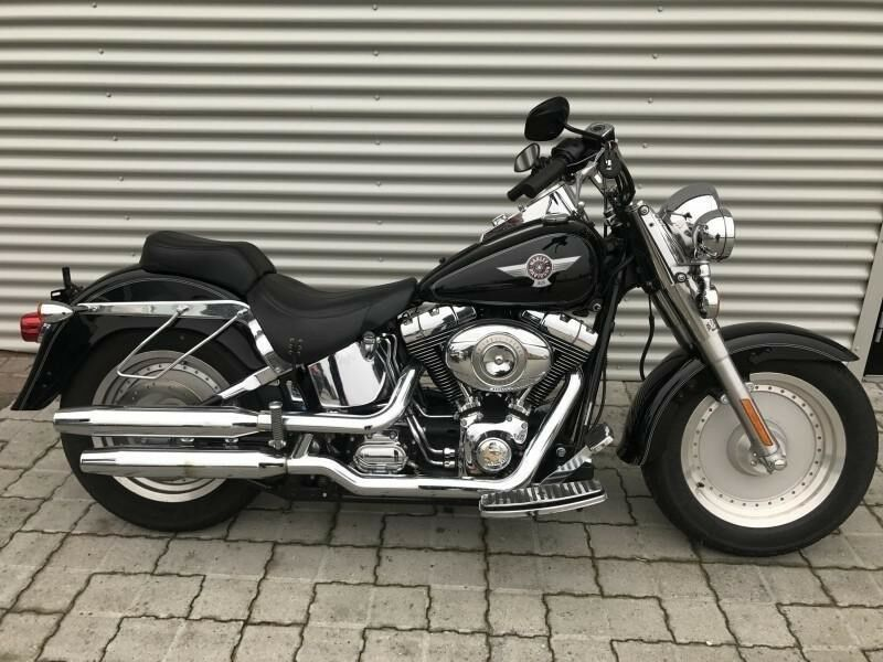 Harley-Davidson, FLSTF Fat Boy, 1585