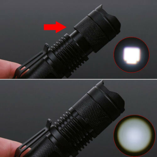 1200LM Outdoor LED Torch waterproof Flashlight Police/'Tactical Zoom Camping Lamp