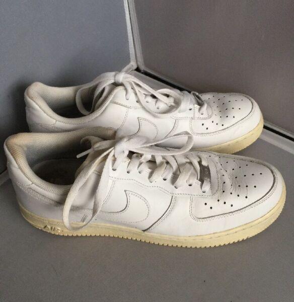 Nike Zapatillas Air Force 1 Bajas Blancas Baloncesto Hombre