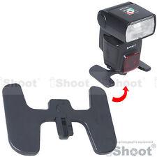 Foldable Flash Stand Mount Holder Base Hot Shoe For Sony Flashgun UK Seller