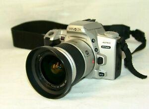 camera MINOLTA-404si Dynax,Minolta AF zoom 3,5-5,6/28-80mm. D Lens