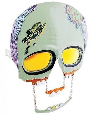 Zombie Sunglasses Eye Glasses Mask Gag Gift Halloween Walking Dead Sunstaches