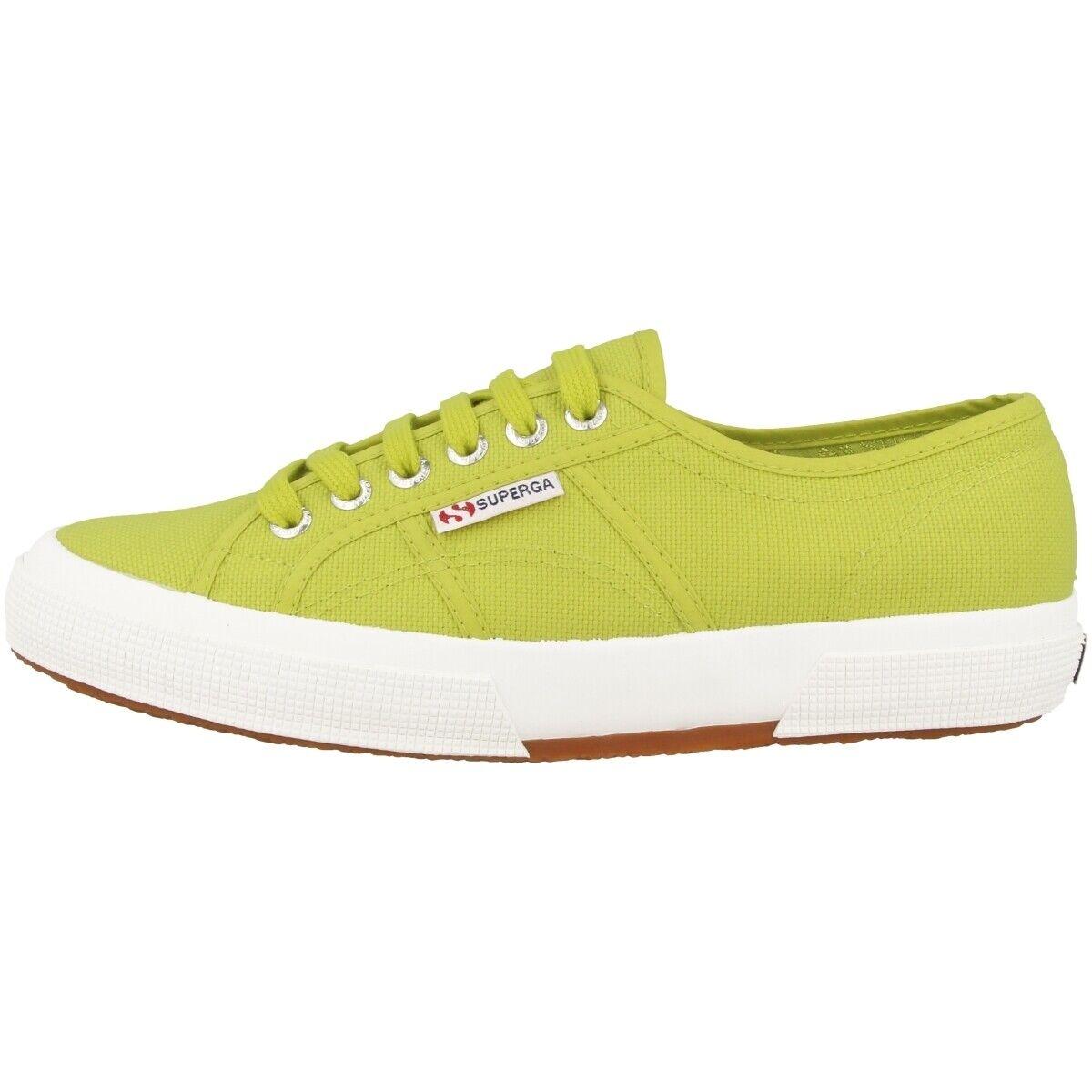 Superga Sneaker DAMENSCHUHE Turnschuhe Cotu Classic S001820 C28 Apple grün EUR 36
