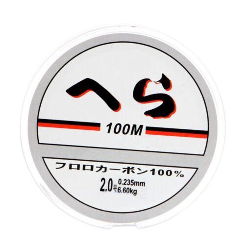 100m Transparente Fuerte Caliente Hilo De Nylon Sedal Alambre De Tackle Cuerda