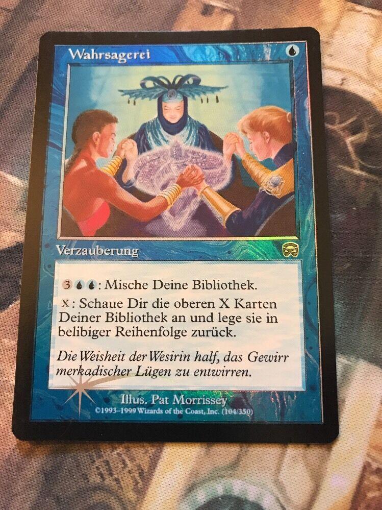 Mtg folie wahrsagen - deutsch