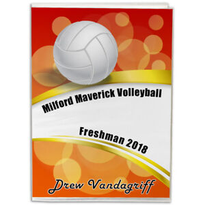 4X6-Personalized-Volleyball-Photo-Album-You-choose-the-background-and-text