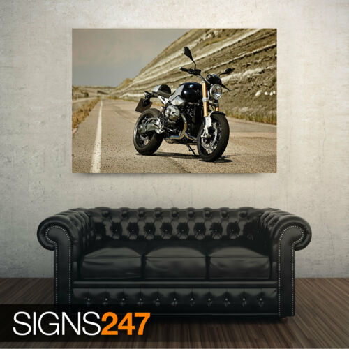 BMW R NINET Picture Poster Print Art A0 A1 A2 A3 A4 Motorbike Poster 1512