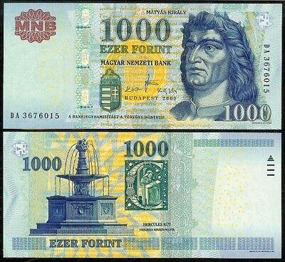 Hungary 1000 Forint P 197e 2015 UNC Low Shipping Combine FREE P 197 e