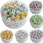 10 Pcs Austria Crystal Spacer Loose Beads Charms DIY Jewelry 6 8 10 mm