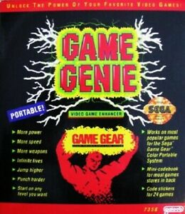 Game-Genie-Sega-Game-Gear-Great-Condition-Fast-Shipping