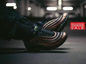 f703759018 BNIB New Men Nike Air Max 97 SK Black Skepta QS Size 7 8 UK | eBay