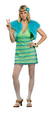 Rubies Hippie Girl Costume Dress One Size Standard 60's - 70's  Retro