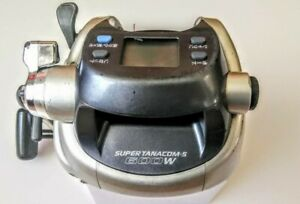 Daiwa-SUPER-TANACOM-S-600W-Electric-Fishing-SaltWater-Reel-Big-Game-Tested-Used