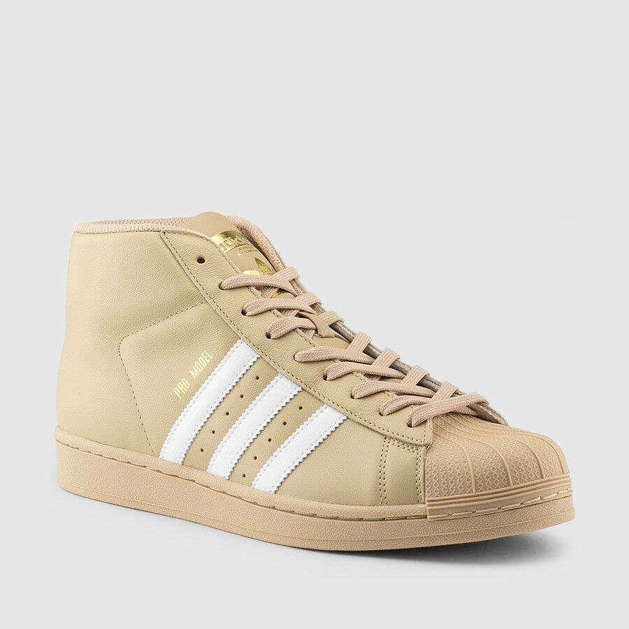 Adidas Pro Model CG5072 Khaki & White Men SZ 7.5 - 13