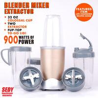 Nutri Bullet Pro 15 Pieces 900w Blender Mixer Extractor Healthy Juice Maker