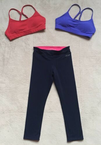 Lorna Jane Reversible Capri Leggings & 2 Pammy Run