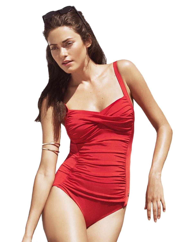 Susa Soft gusci Costume da bagno 4213 Taglia 38-48 38-48 38-48 B-D in rosso nero O. 3b8f20