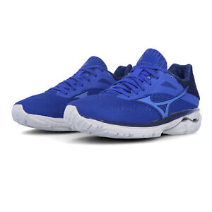 Mizuno Femme WAVE RIDER 23 Chaussures De Course Baskets Sneakers Bleu-Sports