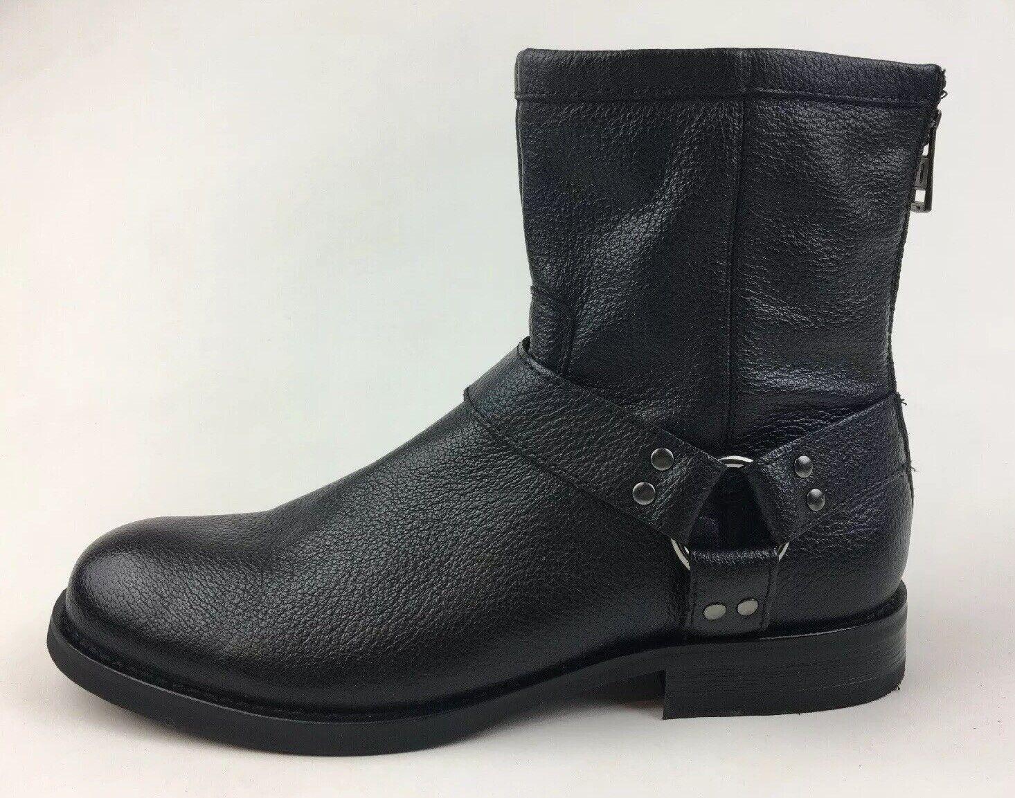 G.H. Bass & Co. para Hombre Bajo-Jake Tobillo botas M, 2018 De Cuero Negro