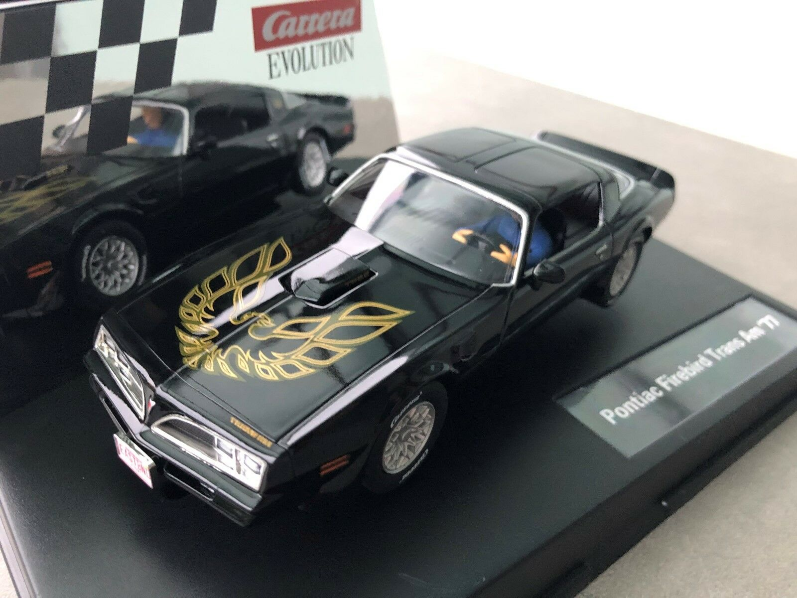 Carrera Evolution 27590 Pontiac Firebird Trans Am '77 Nip
