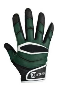 Cutters-Football-Receiver-Gloves-X40-Forest-Lot-of-18-Pairs