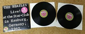 The-Beatles-Live-at-the-Star-Club-Hamburg-Germany-Double-LP-VG