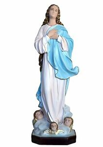 Virgin-Mary-assumption-by-Murillo-resin-statue-cm-100-with-glass-eyes