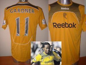 Bolton-Wanderers-GARDNER-Adult-M-Shirt-Jersey-Football-Soccer-Reebok-Jamaica-Top