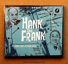 Hank Jones , Hank and Frank ( CD_Dibipack_U.S.A. )